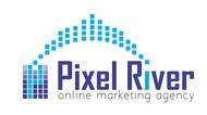 Pixel River Logo - Online Marketing Agency - Entry #100