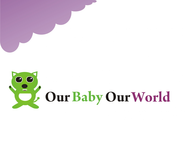 Logo for our Baby product store - Our Baby Our World - Entry #16