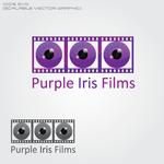 Purple Iris Films Logo - Entry #1