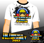 The Forever Family 5K Logo - Entry #8