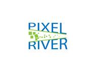 Pixel River Logo - Online Marketing Agency - Entry #129