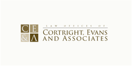 Law Office of Cortright, Evans and Associates Logo - Entry #17