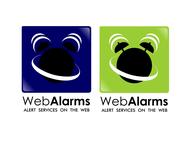 Logo for WebAlarms - Alert services on the web - Entry #45