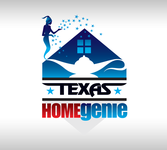 Texas Home Genie Logo - Entry #97