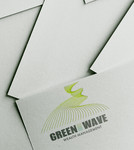 Green Wave Wealth Management Logo - Entry #432