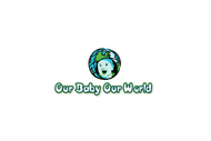 Logo for our Baby product store - Our Baby Our World - Entry #94