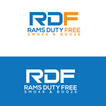 Rams Duty Free + Smoke & Booze Logo - Entry #132