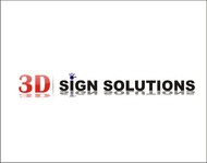 3D Sign Solutions Logo - Entry #175