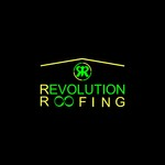 Revolution Roofing Logo - Entry #169