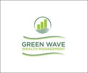 Green Wave Wealth Management Logo - Entry #447