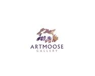 ArtMoose Gallery Logo - Entry #18