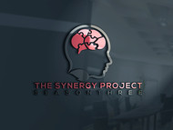 """The Synergy Project"" and place the word ""season three"" underneath in smaller front either as "" season 3"" or ""season three"" Logo - Entry #10"