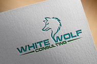 White Wolf Consulting (optional LLC) Logo - Entry #148