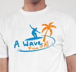 A Wave From It All Logo - Entry #21