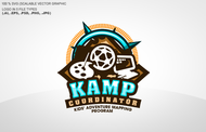 KAMPcoordinator : Kids' Adventure Mapping Program   Logo - Entry #37