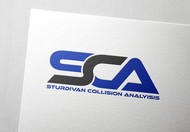 Sturdivan Collision Analyisis.  SCA Logo - Entry #26