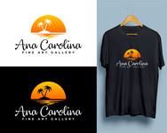 Ana Carolina Fine Art Gallery Logo - Entry #142