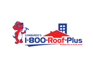 1-800-Roof-Plus Logo - Entry #177