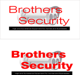 Brothers Security Logo - Entry #211