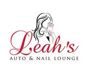 Leah's auto & nail lounge Logo - Entry #74