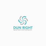 Dun Right Spray Foam and Coating LLC Logo - Entry #15