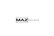 Maz Designs Logo - Entry #405