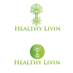 Healthy Livin Logo - Entry #110