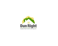 Dun Right Spray Foam and Coating LLC Logo - Entry #8