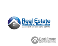 Real Estate Marketing Rainmaker Logo - Entry #32