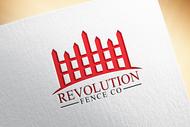 Revolution Fence Co. Logo - Entry #283