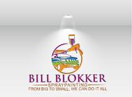 Bill Blokker Spraypainting Logo - Entry #126