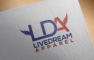 LiveDream Apparel Logo - Entry #316