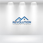Revolution Roofing Logo - Entry #100