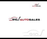 910 Auto Sales Logo - Entry #101