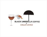 Black umbrella coffee & cocktail lounge Logo - Entry #7