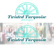 Twisted Turquoise Boutique Logo - Entry #79
