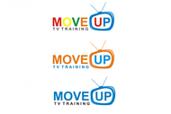 Move Up TV Training  Logo - Entry #45