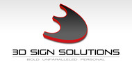 3D Sign Solutions Logo - Entry #183