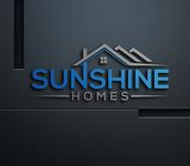 Sunshine Homes Logo - Entry #374