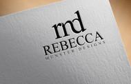 Rebecca Munster Designs (RMD) Logo - Entry #97