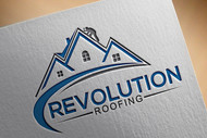 Revolution Roofing Logo - Entry #77