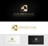 Golden Oak Wealth Management Logo - Entry #231