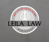 Leila Law Logo - Entry #112