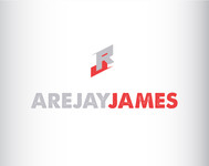 arejay james Logo - Entry #24