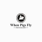 When Pigs Fly Photography Logo - Entry #40