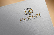 Law Offices of David R. Monarch Logo - Entry #145