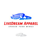 LiveDream Apparel Logo - Entry #460