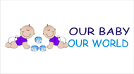 Logo for our Baby product store - Our Baby Our World - Entry #119