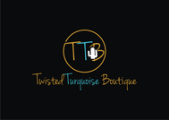 Twisted Turquoise Boutique Logo - Entry #21