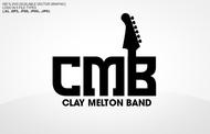 Clay Melton Band Logo - Entry #85